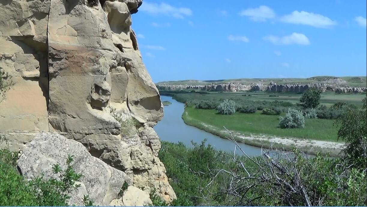 Writing-on-Stone Provincial Park.