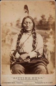 Hunkpapa Sioux chief Sitting Bull.