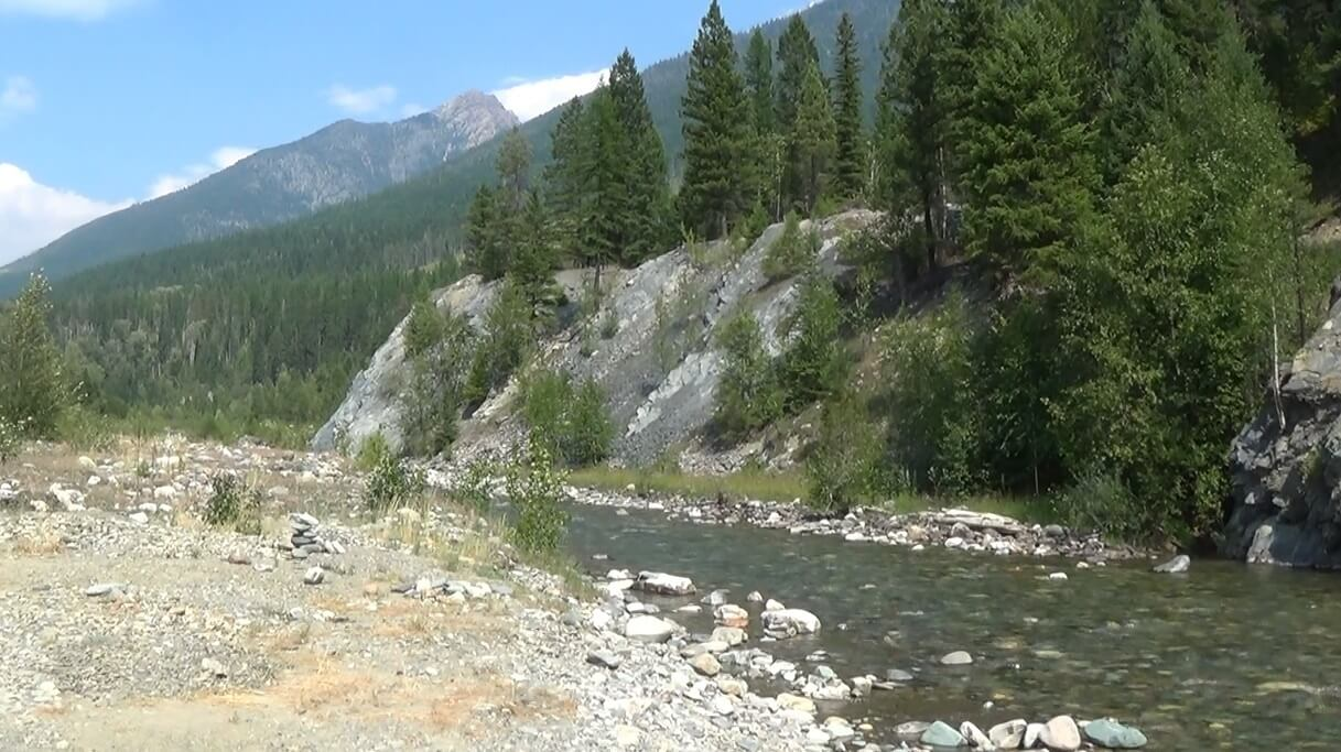 Wild Horse Creek, British Columbia.