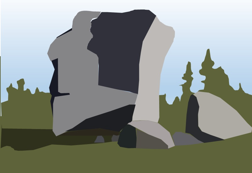 peggys cove stone